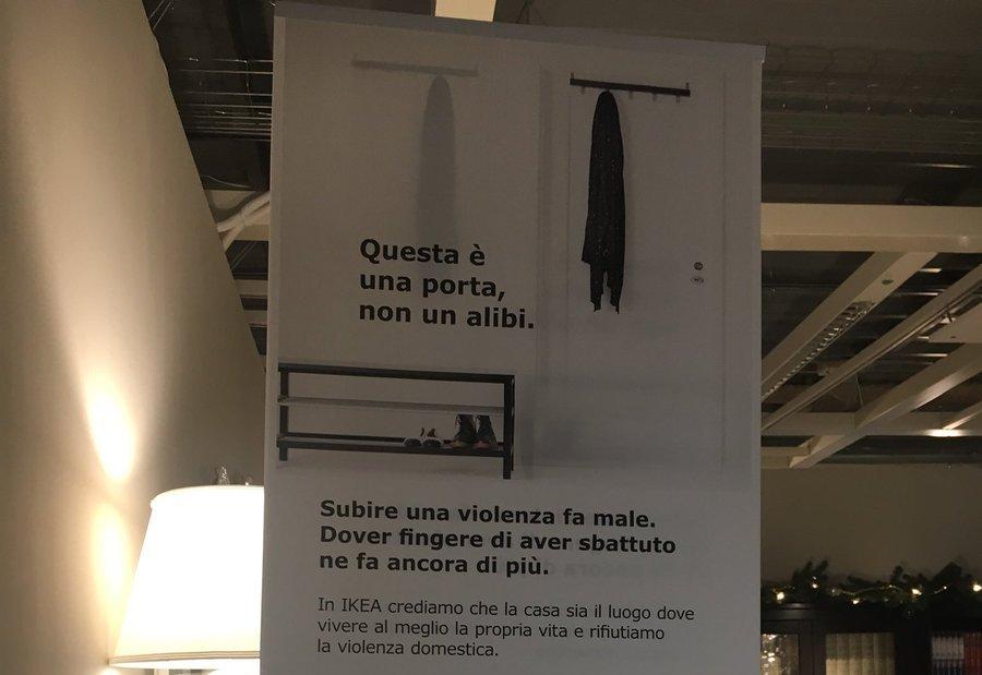 #PerUnaGiustaCasa campagna Ikea e Telefono Donna